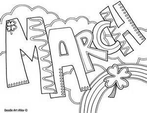 color for march march coloring pages for school coloring pages