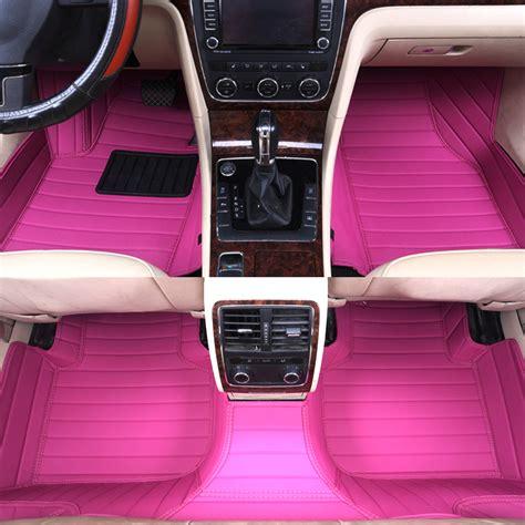 Pink Chevy Floor Mats by Popular Car Mats Pink Buy Cheap Car Mats Pink Lots From