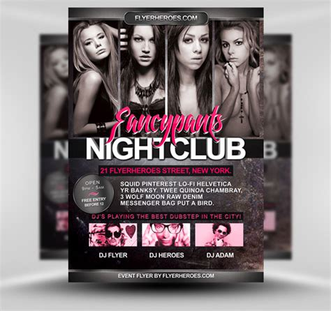 Free Flyer Templates Download More Than 30 Wicked Designs Designrfix Com Free Psd Flyer Templates