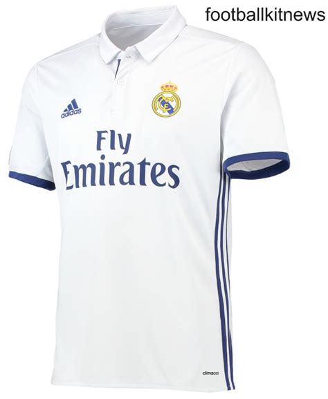 T Shirt Real Madrid new real madrid kits 2016 17 adidas unveil home away