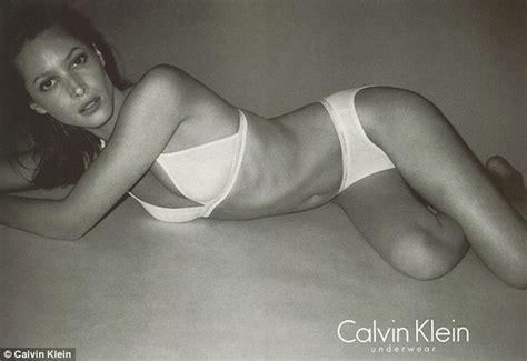 Christy turlington 44 returns as the face of calvin klein underwear