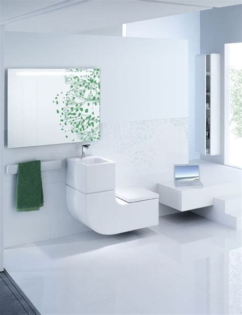 picture of eco friendly and space saving toilet and sink combo