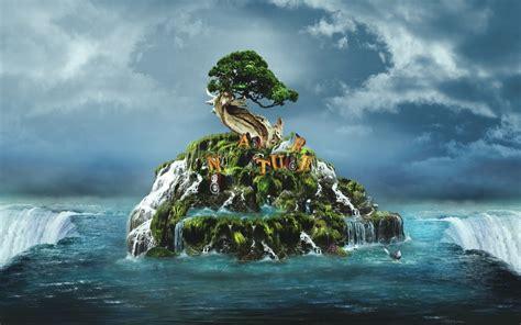 wallpaper en 3d fonditos nature 3d paisajes cad