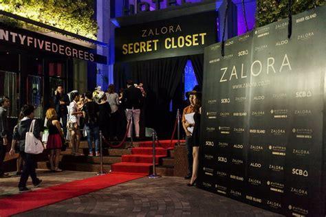 secret zalora บรรยากาศในงาน zalora secret closet