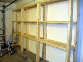 Woodworking Plans Shelves Garage by Plans For Wood Garage Shelving Furnitureplans