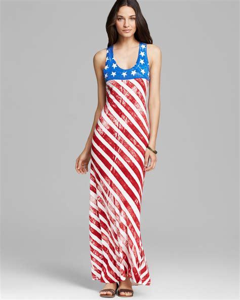 Maxi Kaela Motif Polos alternative apparel maxi dress and stripes lyst