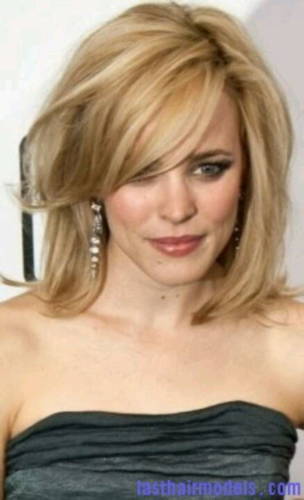 one length bob with side sweep blunt haircut with side swept bangs google search hair