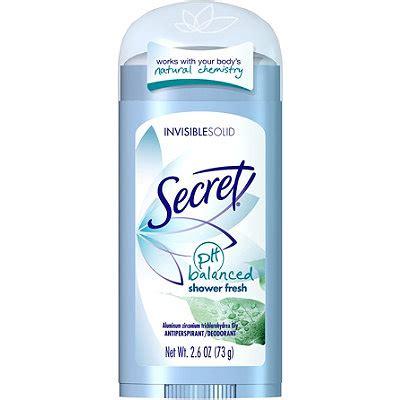 Secret Shower Fresh by Shower Fresh Ph Balanced Invisible Solid Deodorant