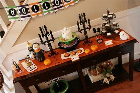 36 X 36 Table Halloween Party For Kids Halloween Party Ideas Dessert