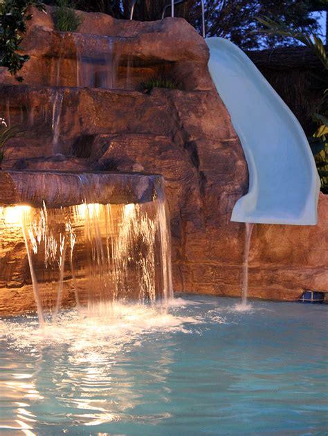pool waterfall designs gallery creativerockcomau