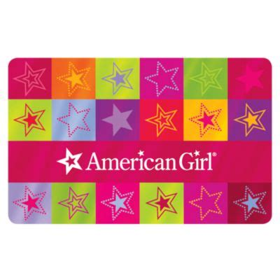 American Girl Gift Cards In Stores - colorful stars gift card giftcards american girl