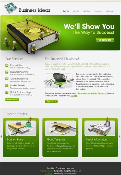 it company website templates free free business website template the right choice for your
