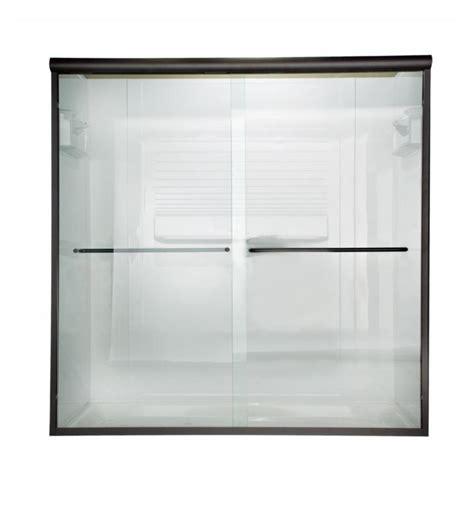 American Standard Frameless Shower Doors American Standard Am00330400 Frameless Sliding 70 Inch Shower Doors