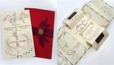 Hochzeitseinladung Harry Potter harry potter 21 kreative hochzeitseinladungen die