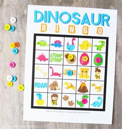 printable dinosaur games free printable dinosaur bingo free printable activities