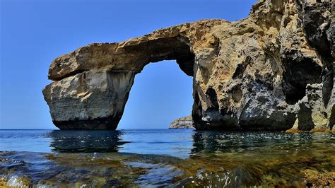 maltas famous azure window collapses  storm