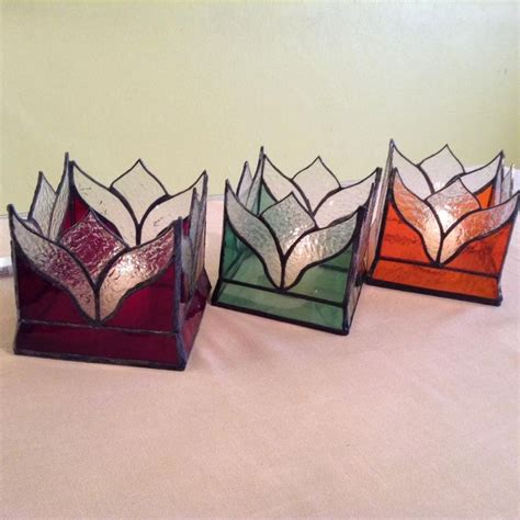 candlestick window pattern 76 best stain glass candle holders images on pinterest
