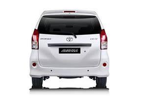 Lu Belakang Mobil Toyota Avanza toyota avanza best bali car rental