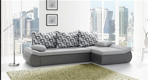 Grey Corner Sofa Bed Corner Sofa Bed Anthon Grey
