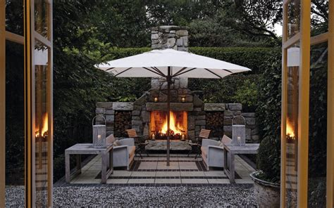 outdoor fireplaces nz owner s cottage taupo luxury retreat new zealand