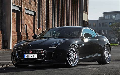 jaguar f type coupe by best tuning