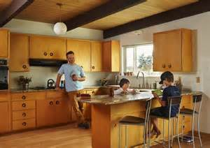 Pacific Nw Mid Century Kitchen Seattle Midcentury Modern House Was Home For The