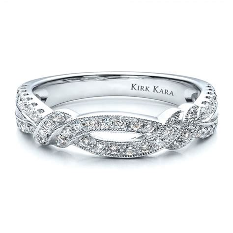 split shank wedding band with matching engagement