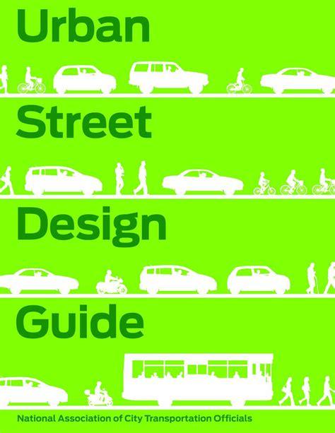 design guidelines book urban street design guide newsouth books