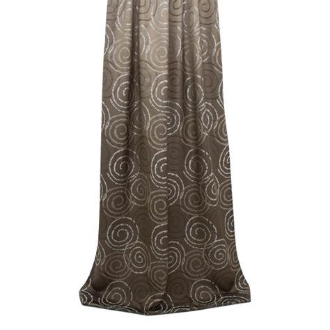deko braun deko vorhang jacquard braun 19 90 chf
