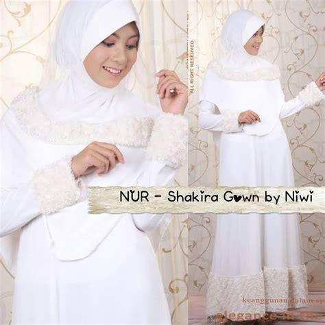 Gaun Pengantin Gliter gaun akad pengantin muslimah jual baju pesta modern