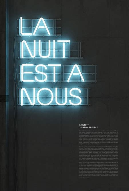 beautiful neon typography by rizon parein showcase of best graphic designs using neon colors