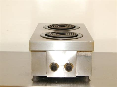 Electric Countertop Range by Hobart 2 Burner Electric Countertop Range Ebay