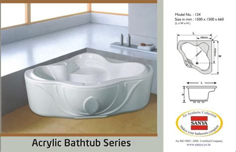 acrylic bathtub manufacturers 28 images cupc
