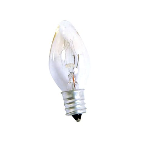 night light bulb 7w e12 2pk