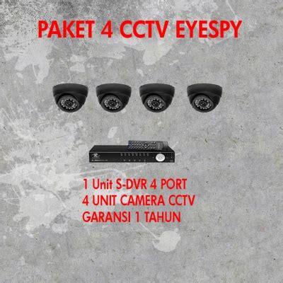 Paket Hicho 1 3 paket 4 cctv eyespy garansi auto focus cctv