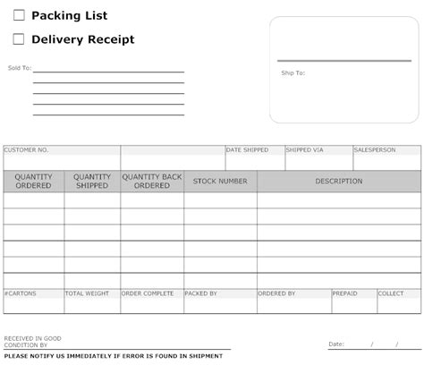delivery receipt template doc best photos of delivery sign sheet vehicle sign out