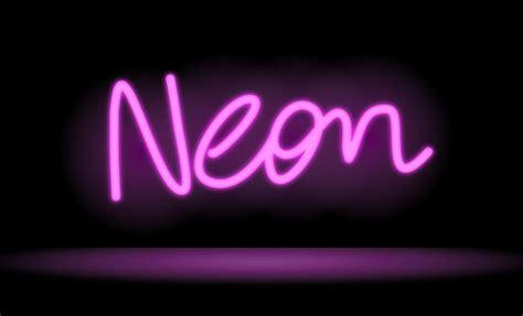 digitaldrawer drawing a neon sign in inkpad