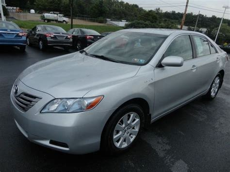 2007 Toyota Camry Mpg Sell Used 2007 Toyota Camry Hybrid Sunroof 1 Owner We Sold