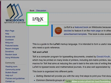 latex tutorial getting started how to use latex for text formatting 6 steps with pictures