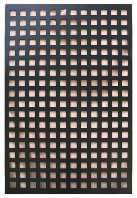 square pattern vinyl lattice amazon com acurio square black vinyl lattice decorative