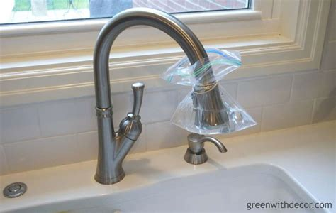 clean your kitchen faucet cleaning pinterest green with decor clean the bottom of the kitchen faucet