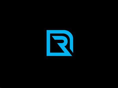 design effect in r r logo by deb panckhurst dribbble