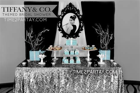 Tiffany & Co. Themed Bridal Shower   Tiffany's Inspired