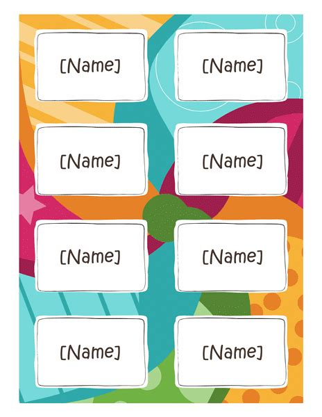 free printable name tags for work cards office com