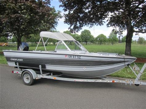 crestliner deep v boats pin 14 foot crestliner deep v boat in winnipeg manitobafor