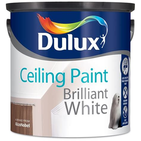 Dulux Pentalite Brillian White 2 5 Lt dulux ceiling paint matt brilliant white 2 5 litre white emulsions topline ie