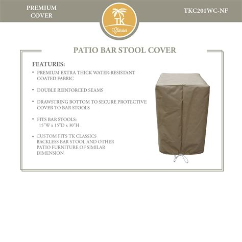 Outdoor Patio Bar Stool Covers by Outdoor Bar Stool Covers Patio Bar Stool Covers