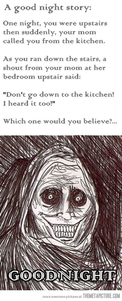 Scary Goodnight Meme - scary face drawing meme www pixshark com images