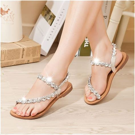 bridal flat sandals wedding www pixshark com images