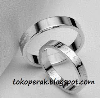Cincin Kawin Perak Sepasang S 1665 jual cincin cincin perak cincin nikah cincin pernikahan